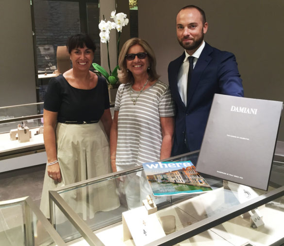 Where is Where®? Spotted in the new Damiani Boutique