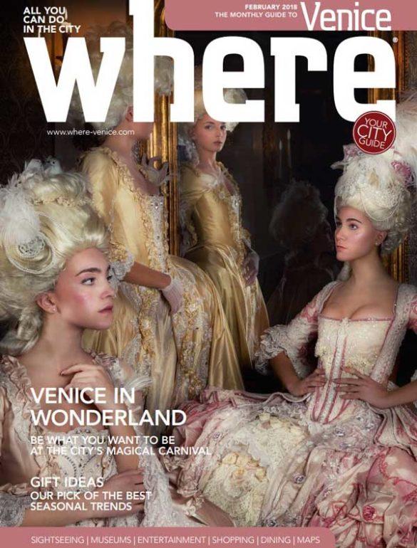 Where Venice Cover February 2018