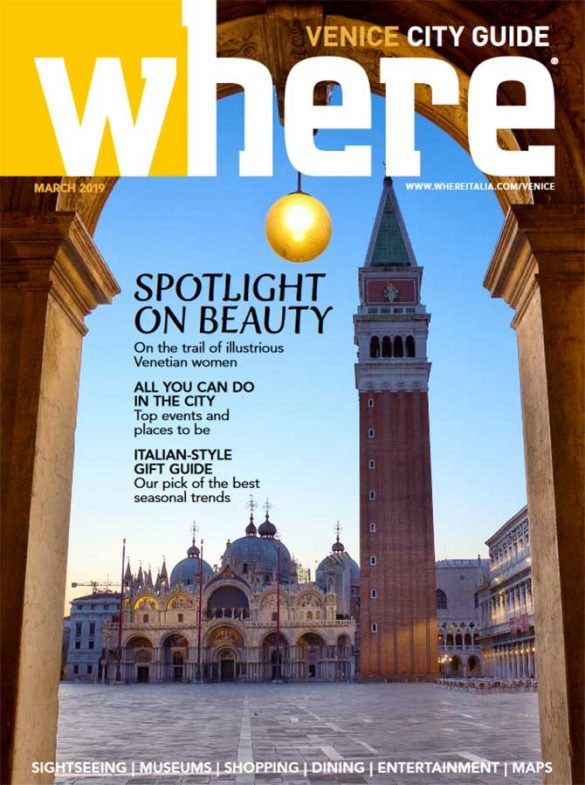 Cover Where Venice n 31 March 2019