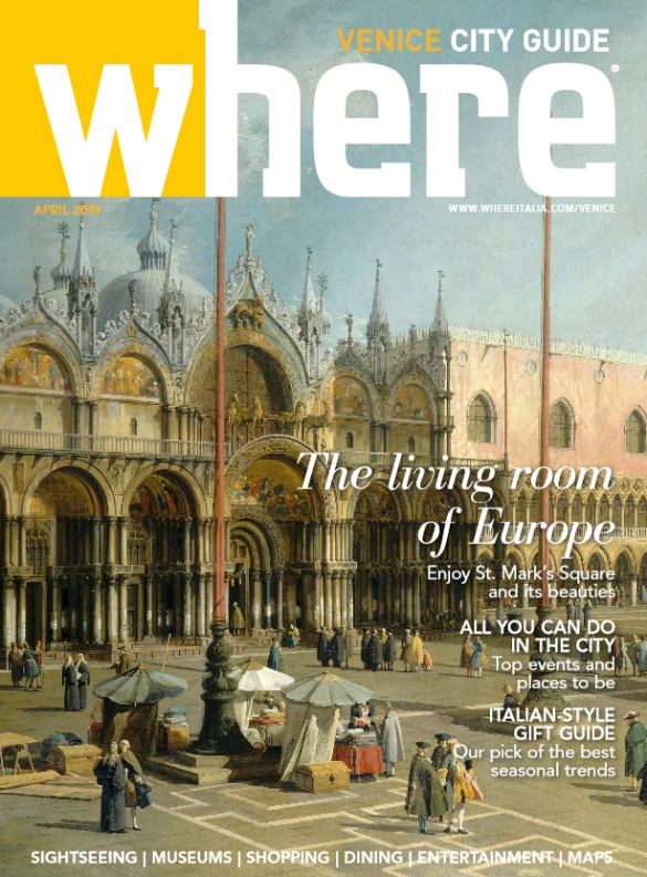 Cover Where Venice n. 32 April 2019
