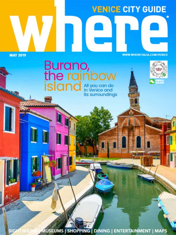 Cover Where Venice n 33 May 2019