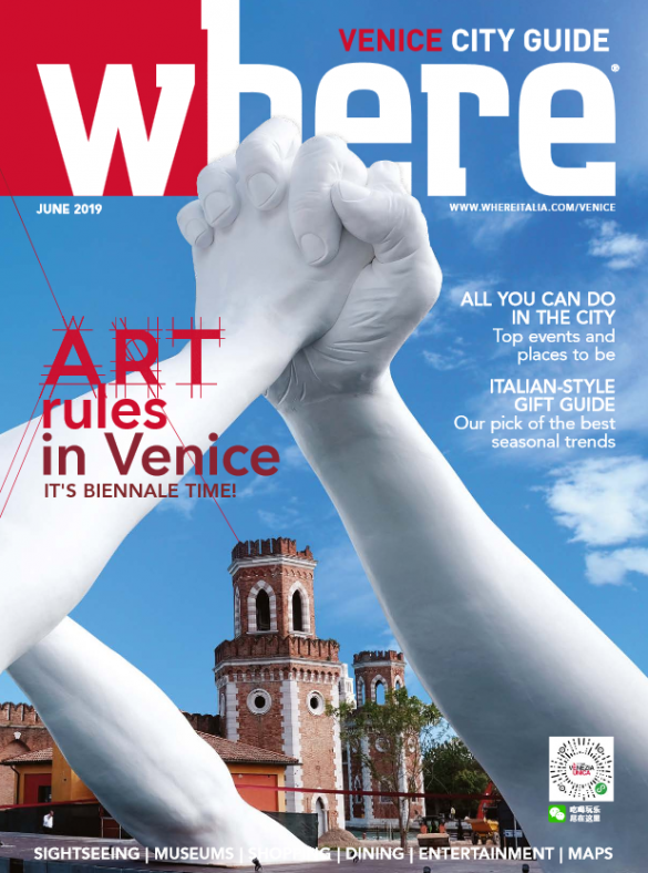 Cover Where Venice n 34 June 2019