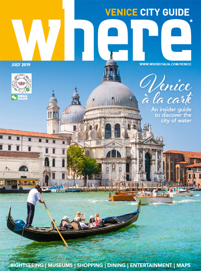 Cover Where Venice n 35 July 2019