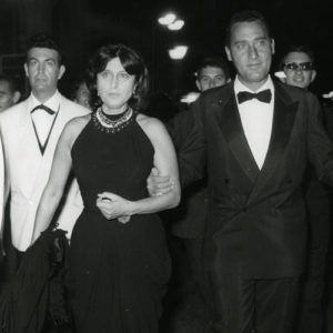 Alberto Sordi and Anna Magnani in 1956 photo credits © courtesy ASAC - La Biennale di Venezia