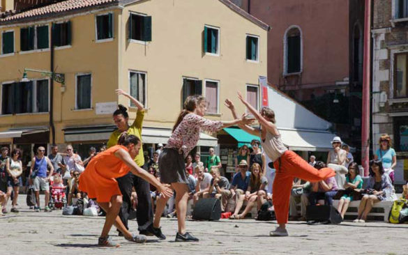 A moment of Biennale of Dance