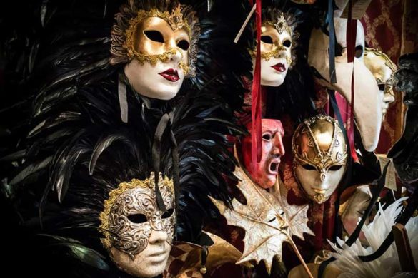 Masks from La Bottega dei Mascareri