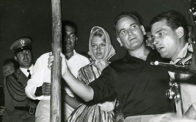 Brigitte Bardot in 1958, photo credits © courtesy ASAC - La Biennale di Venezia
