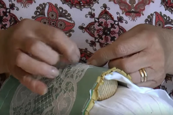 Lace-making in Burano
