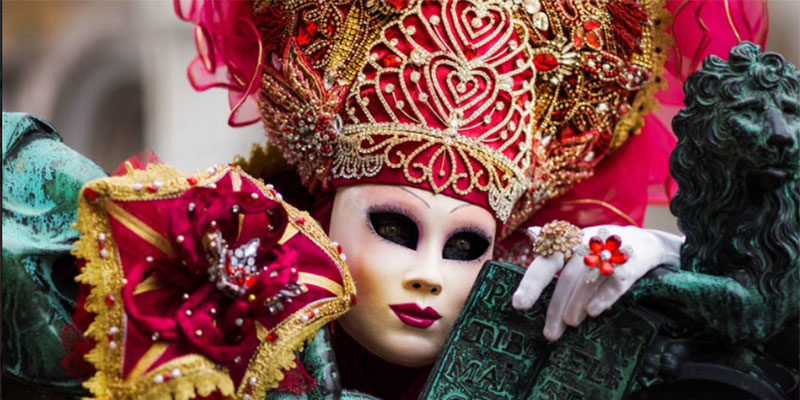 A costume at Venice Carnival