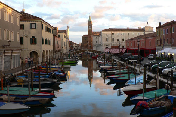 The city of Chioggia