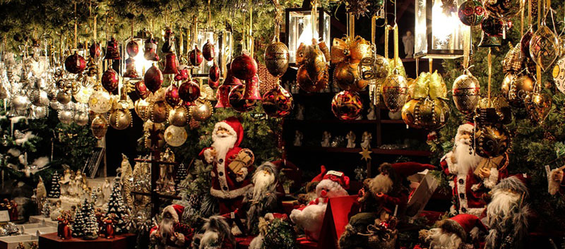 Christmas market in Venice