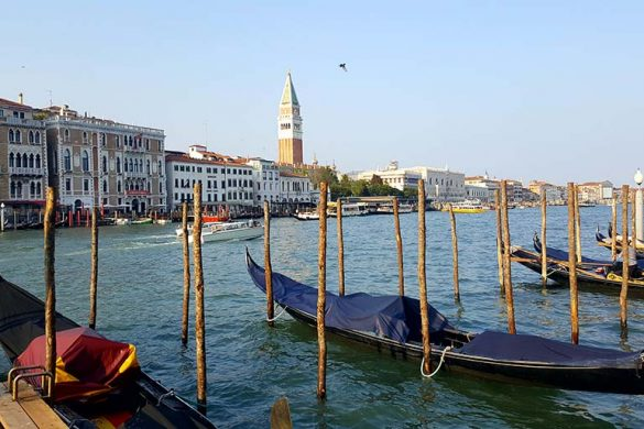 A landscape image of Venice