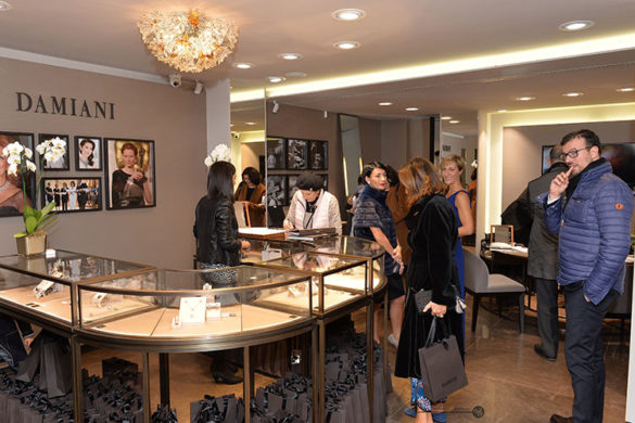 New Damiani Boutique in Venice