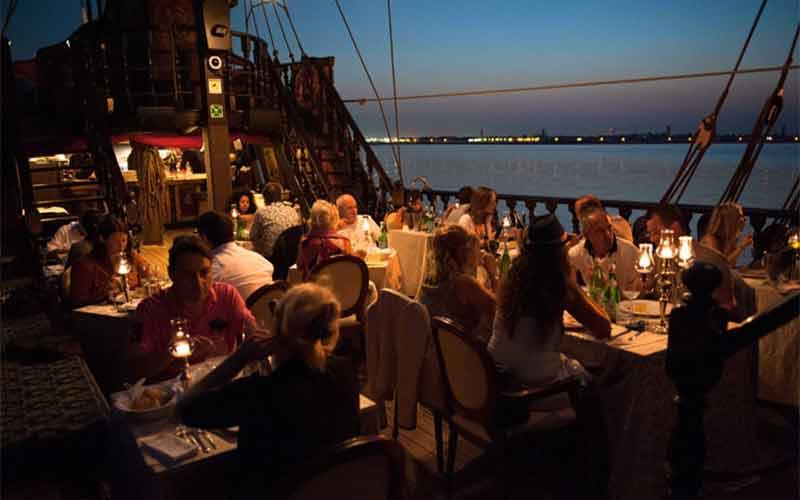 Dinner on the Galeone Veneziano