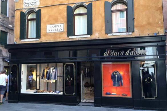 Al Duca d'Aosta Venice Store