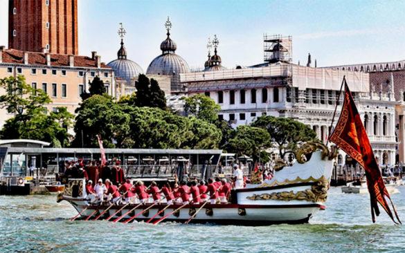 Regattas during the Festa della Sensa