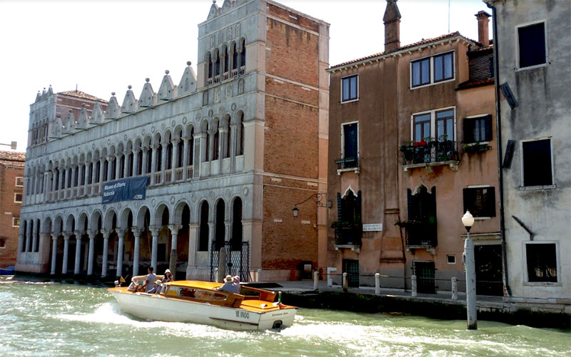 Fontego dei Turchi sestiere Santa Croce
