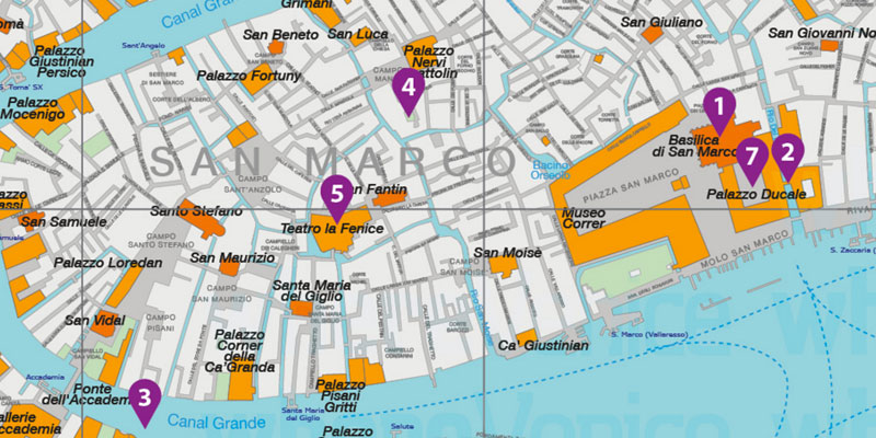 Venice City Map Free Download in Printable Version Where Venice
