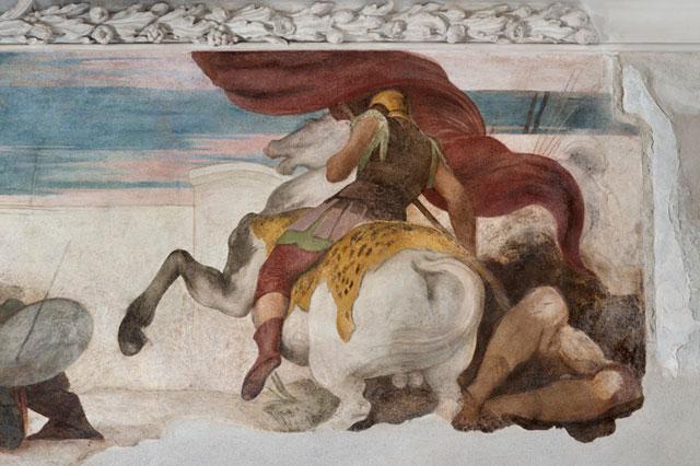 Detail: a fresco