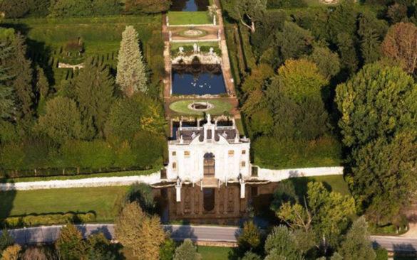 Garden of Valsanzibio villa