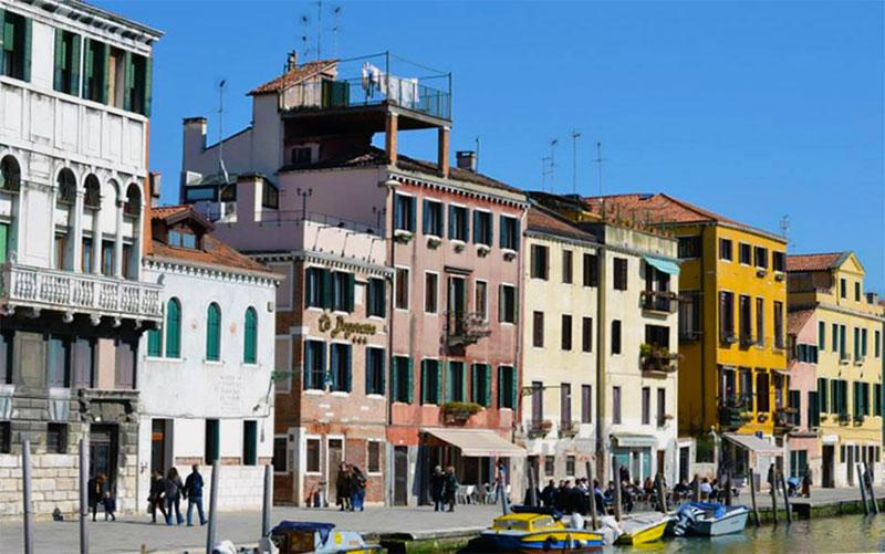 The Jewish Ghetto in Sestiere Cannaregio