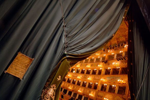 The great opening of la Fenice, photo credits (c) Michele Crosera