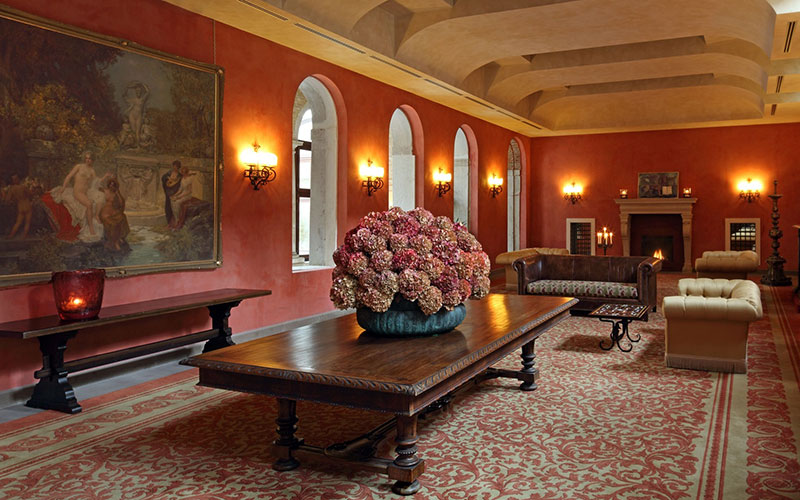 The access hall to Bauer Palladio Hotel & Spa