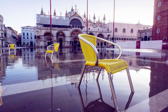 The high water in Piazza San Marco (c) Shutterstock.com