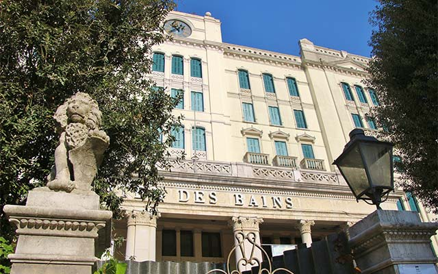 Hotel des Bains, photo credits Shutterstock