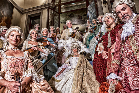 Musici Veneziani, a 18th Century Costumed Orchestra in Venice