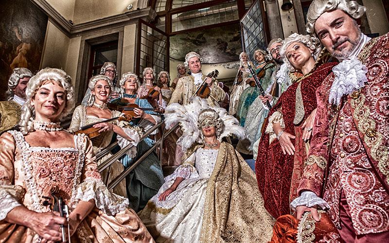 Musici Veneziani, a 18th Century Costumed Orchestra in Venice