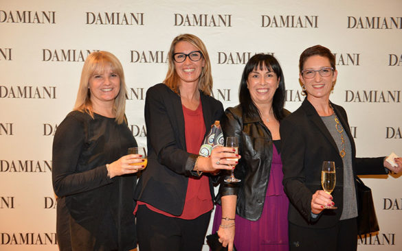 Inauguration of the boutique Damiani