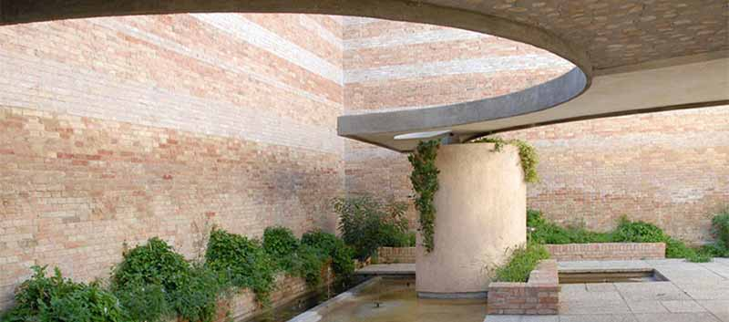 The Italian Pavilion designed by Carlo Scarpa