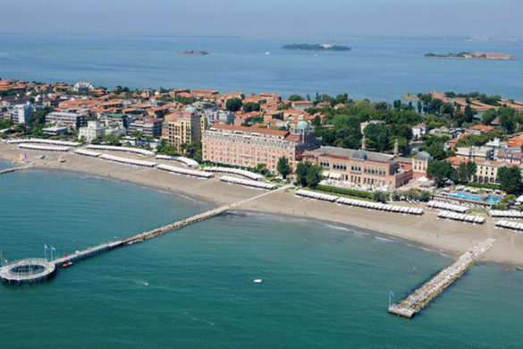 Beaches at the Lido of Venice