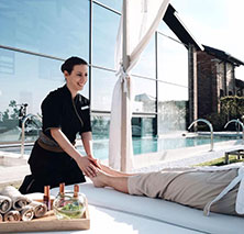 A massage at Jw Marriott Venice Resort & Spa