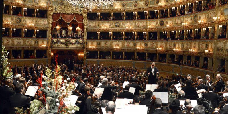 New Year's Eve in Venice: concert at Teatro la Fenice Photo © Michele Crosera