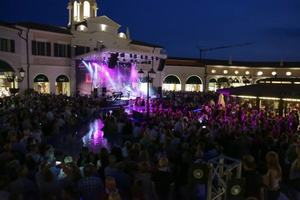 Festival #ModaMusica 2016: a live music concert at the outlet