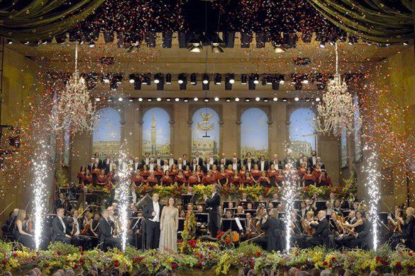 New Year's Eve Concert at La Fenice, photo credits (C) Michele Crosera