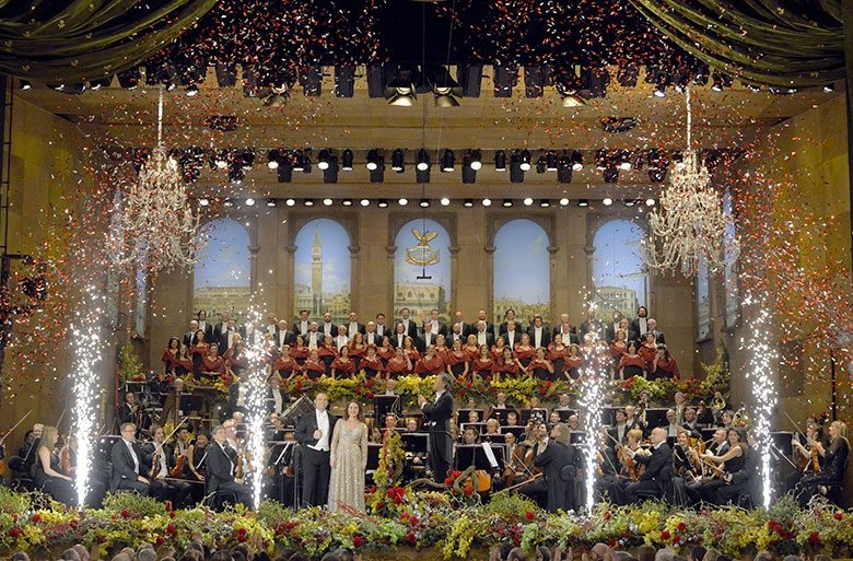 New Year's Eve Concert at La Fenice, photo credits (C) Michele Crosera