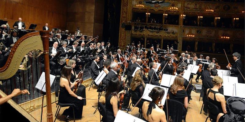 orchestra teatro la fenice theatre