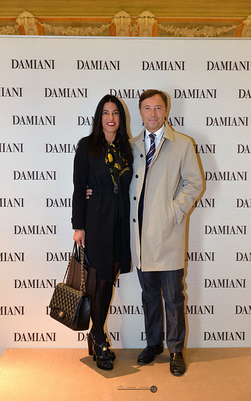 Guests at Damiani event
