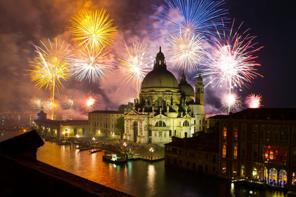 Fireworks for the Feast of the Redeemer