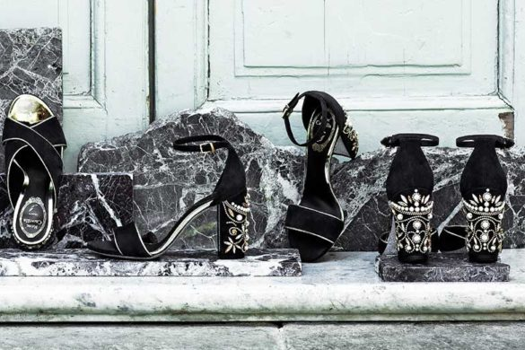 Exclusive jewel shoes by René Caovilla