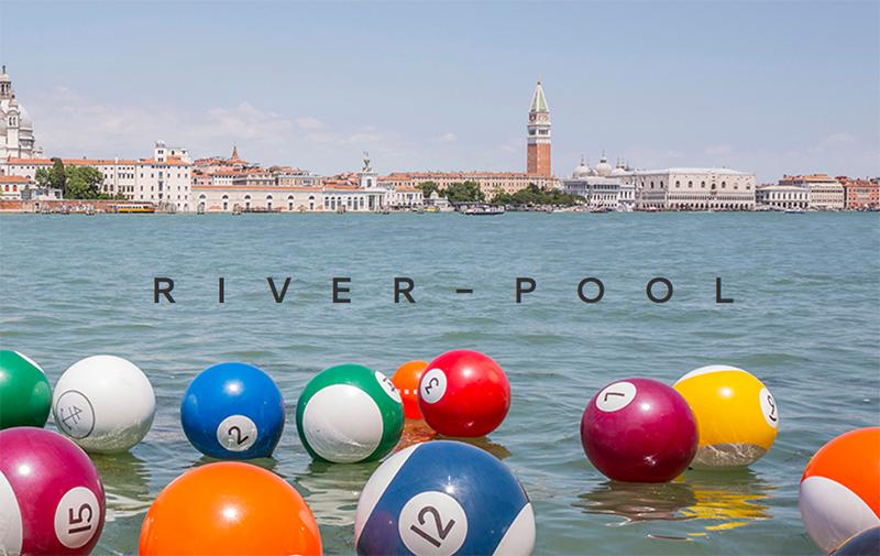 River Pool Installation
