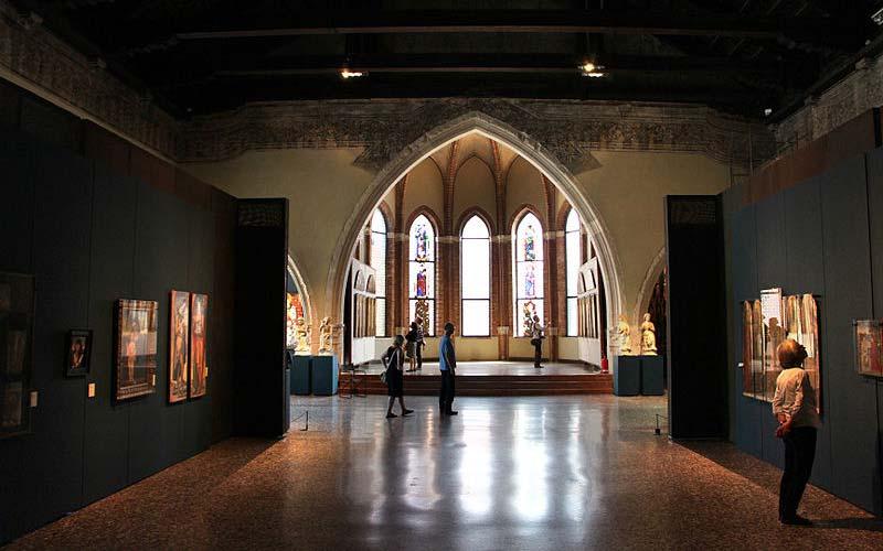 Sala della Carità at Gallerie dell'Accademia, photo credits Sailko under c.c 3.0 licence