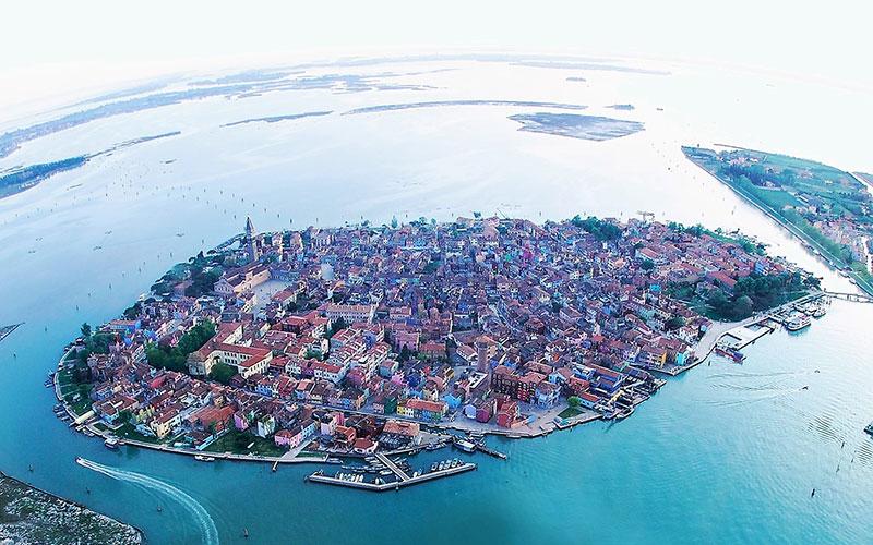 The island of Burano