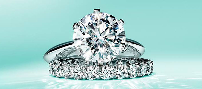 Engagement ring by Tiffany & co.