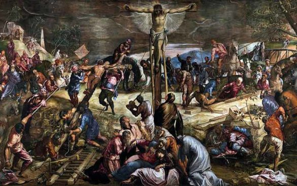 Crucifixion by Tintoretto