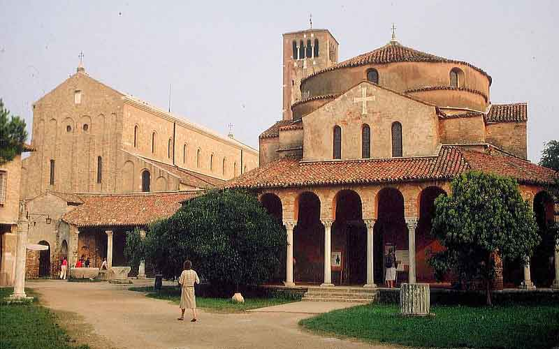 The Church of Santa Maria Assunta on the Island of Torcello photo credits AnRo0002 under c.c 1.0 licence
