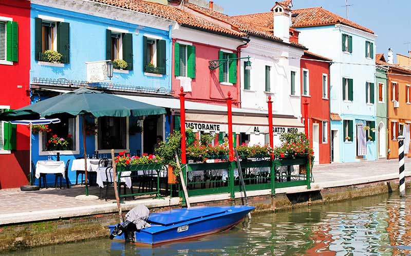 Al Gatto Nero Traditional Trattoria In Burano Where Venice